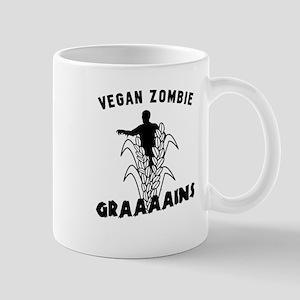 Vegan Zombie Grains Mugs