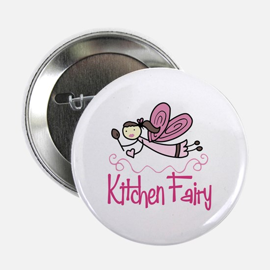 """KITCHEN FAIRY 2.25"""" Button"""