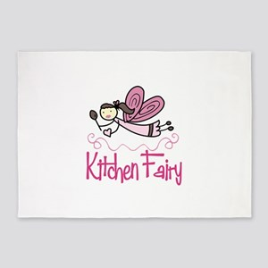 KITCHEN FAIRY 5'x7'Area Rug