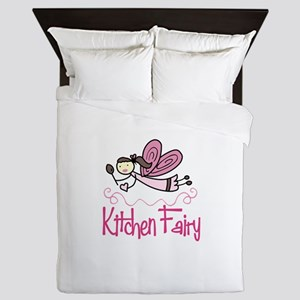 KITCHEN FAIRY Queen Duvet