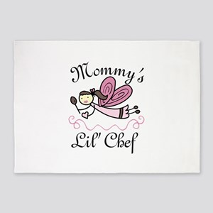 Mommys Lil Chef 5'x7'Area Rug