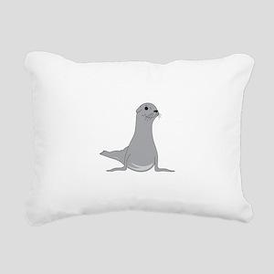 Seal Rectangular Canvas Pillow