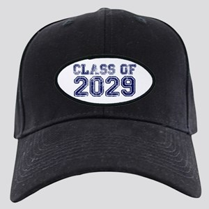 Class of 2029 Black Cap with Patch