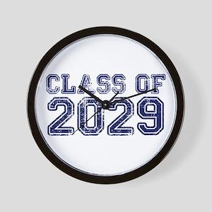 Class of 2029 Wall Clock
