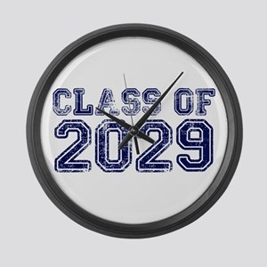 Class of 2029 Large Wall Clock