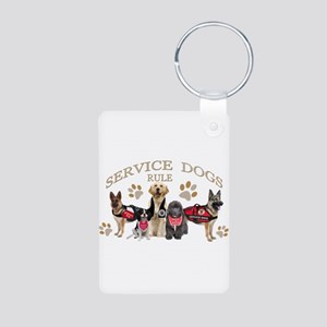 Service Dogs Rule Gifts And Apparel Keychains