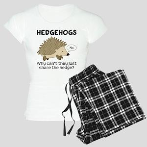Hedgehog Pun Women's Light Pajamas
