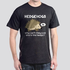 Hedgehog Pun Dark T-Shirt