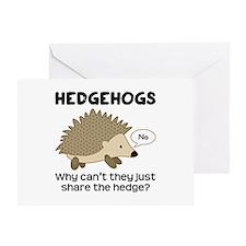 Hedgehog Pun Greeting Card