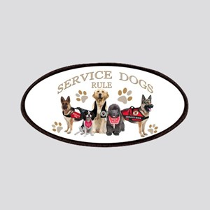 Service Dogs Rule Gifts And Apparel Patches