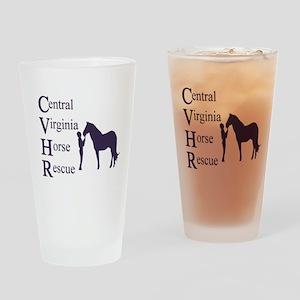 LogoBlue Drinking Glass