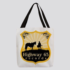 Highway 65 Records Polyester Tote Bag
