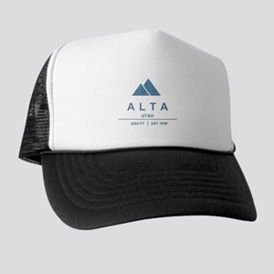 Alta Ski Resort Utah Trucker Hat