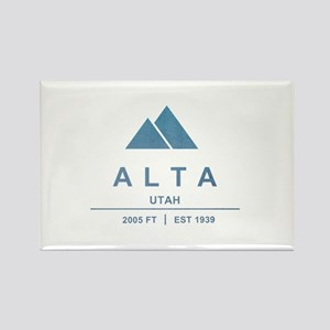 Alta Ski Resort Utah Magnets