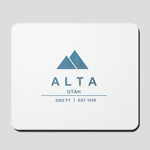 Alta Ski Resort Utah Mousepad
