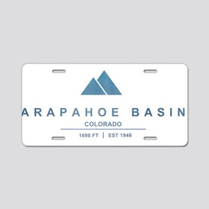 Arapahoe Basin Ski Resort Colorado Aluminum Licens