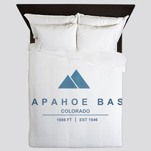 Arapahoe Basin Ski Resort Colorado Queen Duvet