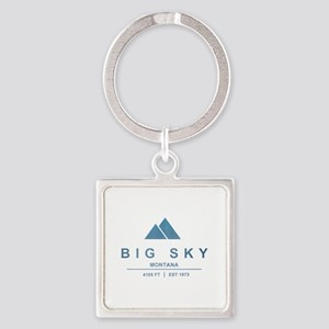 Big Sky Ski Resort Montana Keychains