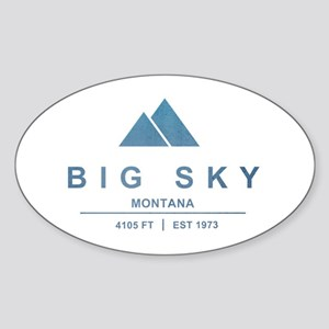 Big Sky Ski Resort Montana Sticker