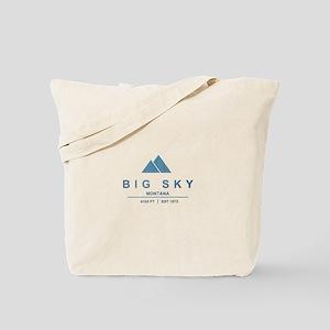 Big Sky Ski Resort Montana Tote Bag