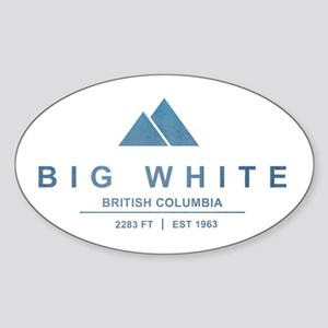 Big White Ski Resot British Columbia Sticker