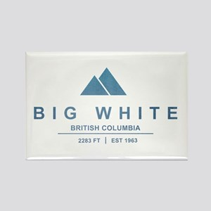 Big White Ski Resot British Columbia Magnets