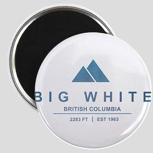 Big White Ski Resot British Columbia Magnets