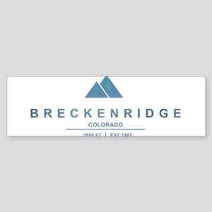 Breckenridge Ski Resort Colorado Bumper Sticker