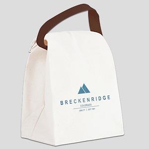 Breckenridge Ski Resort Colorado Canvas Lunch Bag