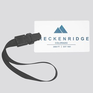 Breckenridge Ski Resort Colorado Luggage Tag