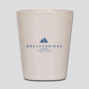 Breckenridge Ski Resort Colorado Shot Glass