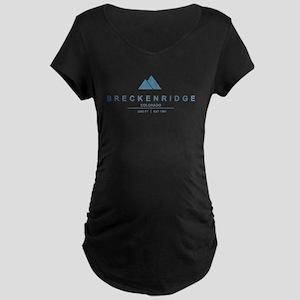 Breckenridge Ski Resort Colorado Maternity T-Shirt
