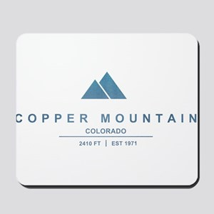 Copper Mountain Ski Resort Colorado Mousepad