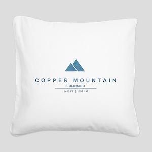 Copper Mountain Ski Resort Colorado Square Canvas