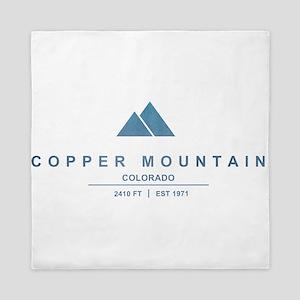 Copper Mountain Ski Resort Colorado Queen Duvet