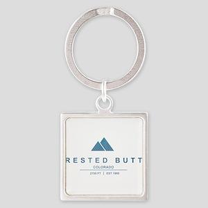 Crested Butte Ski Resort Colorado Keychains