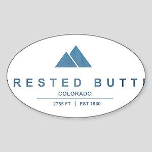 Crested Butte Ski Resort Colorado Sticker