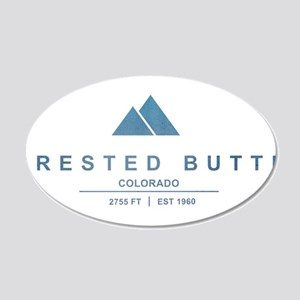 Crested Butte Ski Resort Colorado Wall Decal