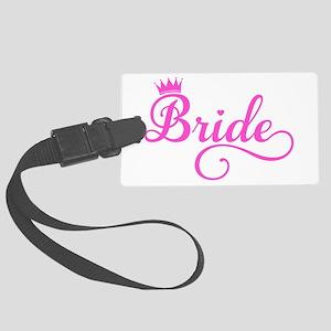 Bride pink Luggage Tag