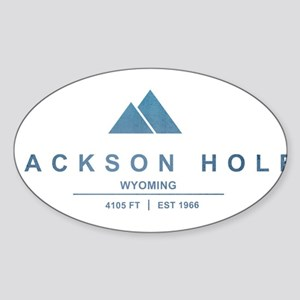 Jackson Hole Ski Resort Wyoming Sticker
