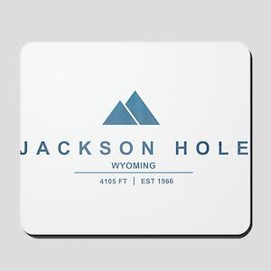 Jackson Hole Ski Resort Wyoming Mousepad