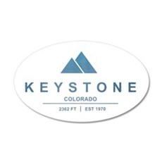 Keystone Ski Resort Colorado Wall Decal