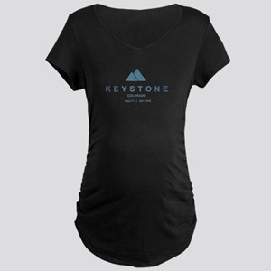 Keystone Ski Resort Colorado Maternity T-Shirt