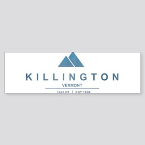 Killington Ski Resort Vermont Bumper Sticker