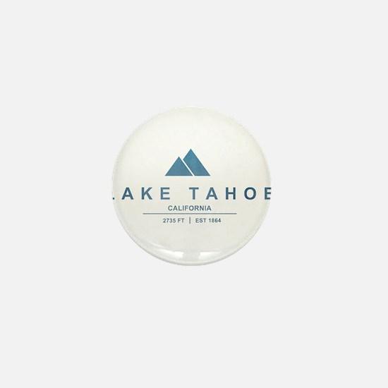 Lake Tahoe Ski Resort California Mini Button