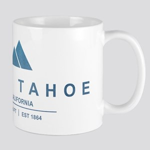 Lake Tahoe Ski Resort California Mugs