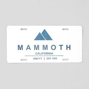 Mammoth Ski Resort California Aluminum License Pla