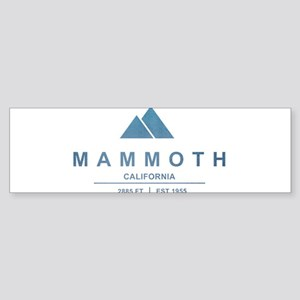 Mammoth Ski Resort California Bumper Sticker