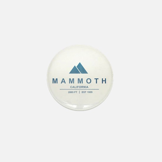 Mammoth Ski Resort California Mini Button