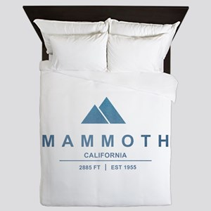 Mammoth Ski Resort California Queen Duvet
